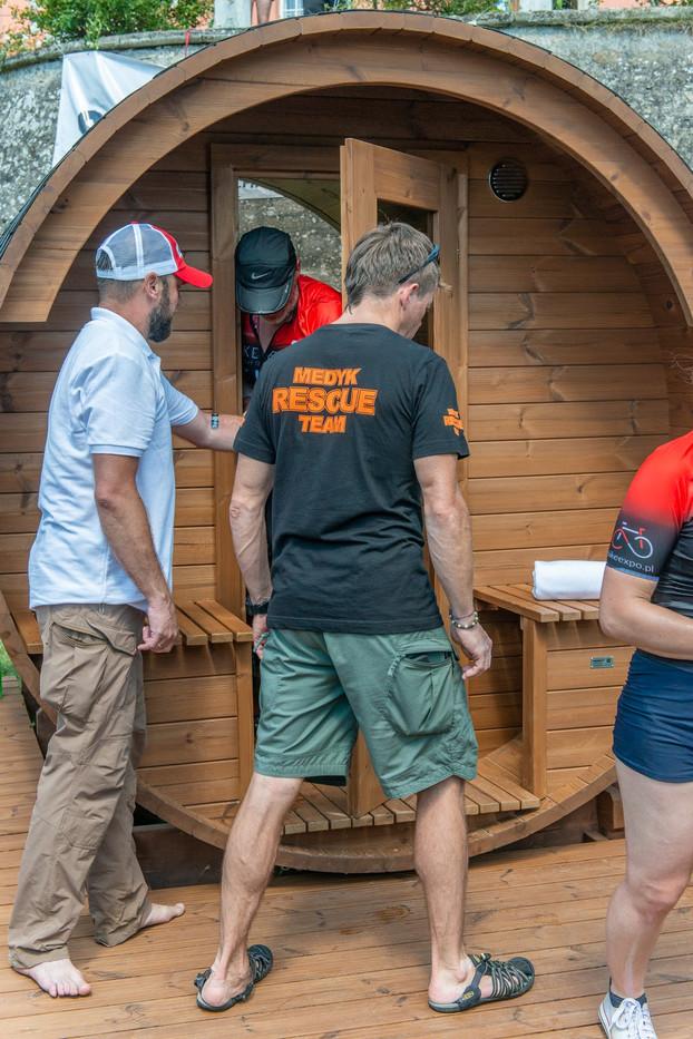 Wyjście z sauny