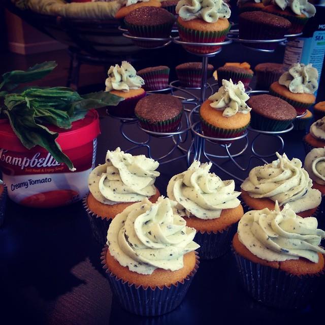 Facebook - Tomato basil cupcakes #itsjocake
