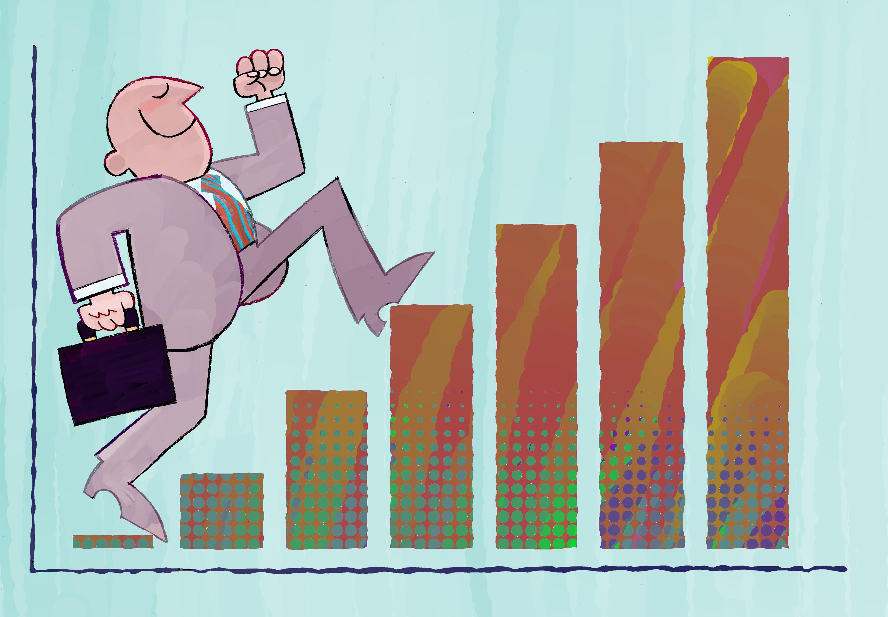 illustration 'business growth'