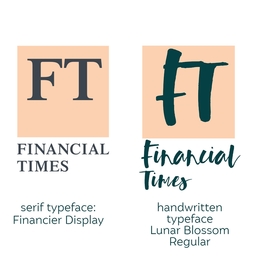 how to choose your brand font