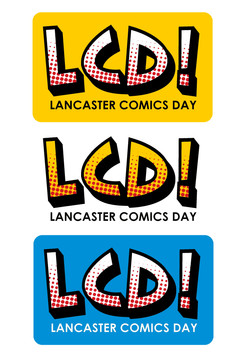 Lancaster Comics Day logo
