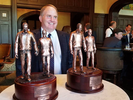 Gary Patterson earns his latest award for work off the field