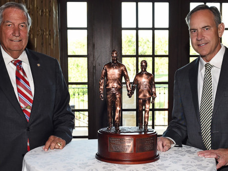 Dantonio Receives Gene Stallings Award