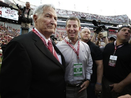 Gene Stallings talks lesson he impressed upon Dabo Swinney