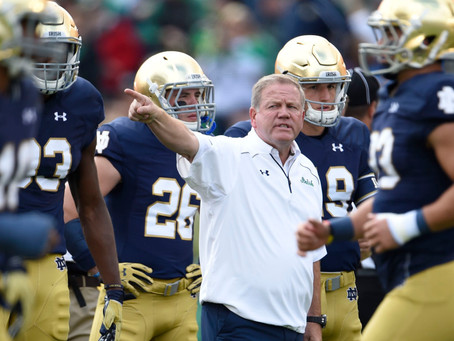Brian Kelly Named 2019 Stallings Award Recipient