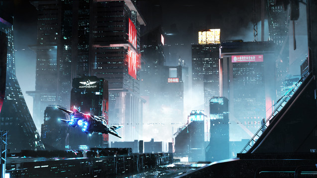 FUTURISTIC STREET