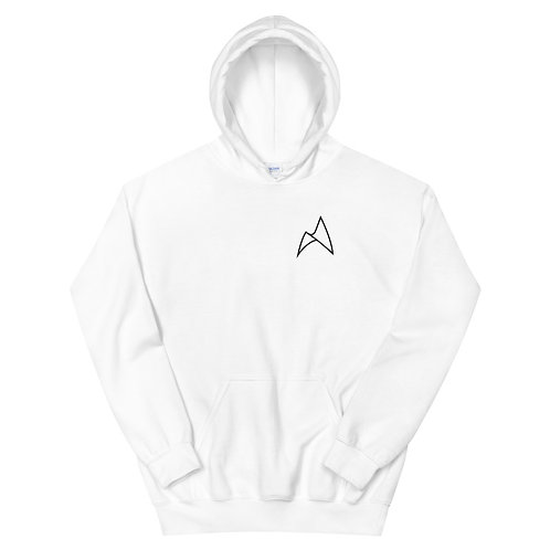 ARC NORTH PULLOVER HOODIE - WHITE