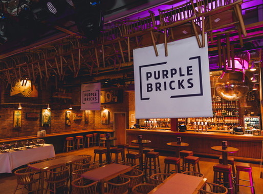 Purple Bricks Christmas with Pandora Events