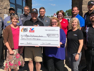 Tires Plus and Valvoline Instant Oil Employees believe in Community!