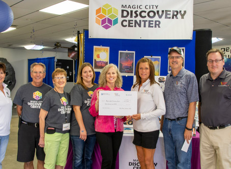 Co-ops donate $15,000 to Children's Museum