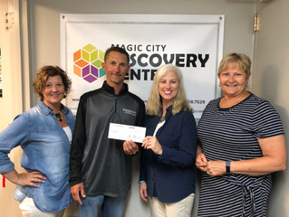MDU Resources Foundation contribution of $20,000 toward their total gift of $100,000