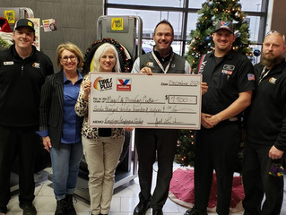 Tires Plus and Valvoline Instant Oil Donate to MCDC