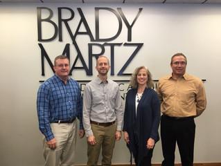Brady Martz Donates $20,000