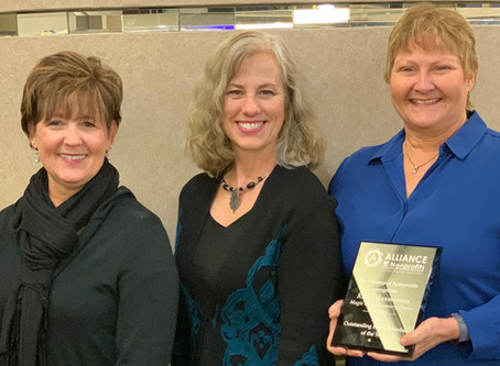 MCDC Makes Top Nominations in 3 Categories of Alliance of Nonprofits Community Recognition Awards