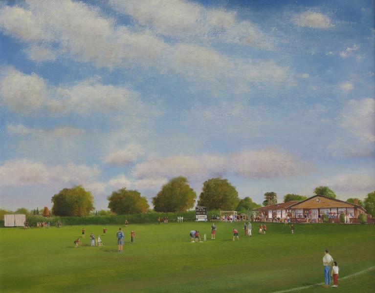 Cricket Practice - Greywell