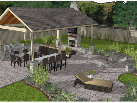 Custom Patio Concept Design