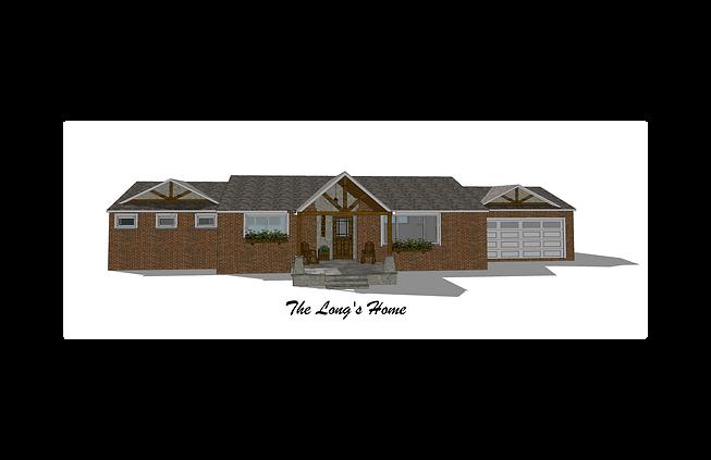 Existing Home Exterior Concept Renovation