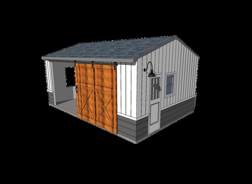 Farmhouse Garage Remodel