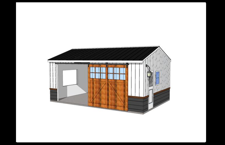 Garage Material Visualization