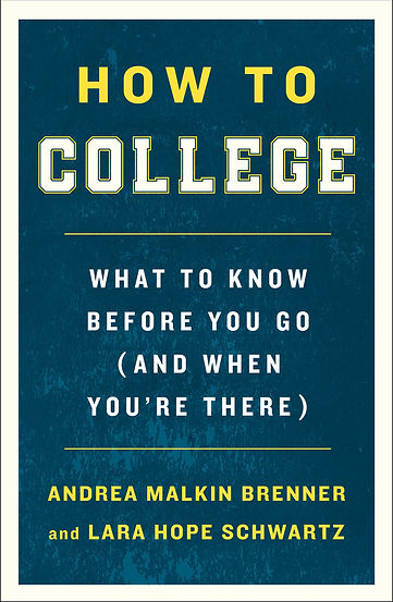 The cover of the book, How to College
