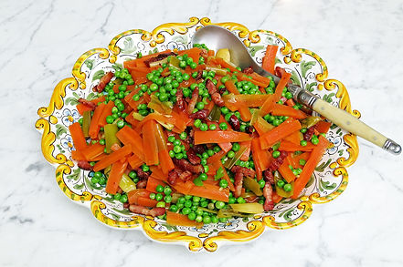 Vegetables Jardiniere With Bacon Lardons Lydia Gerratt From