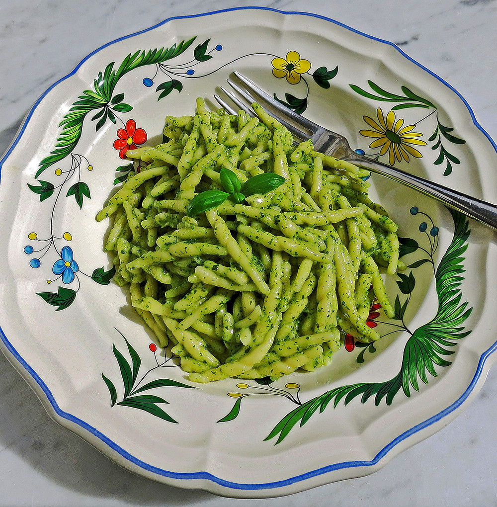 Pesto (a classic dish from Liguria)
