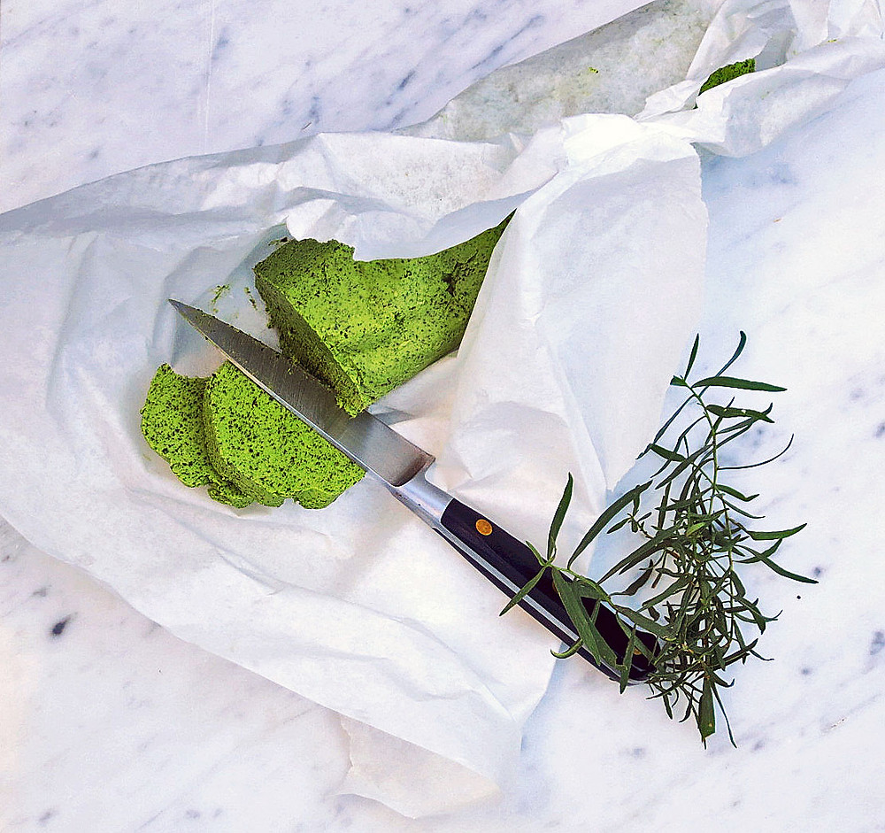 Tarragon, parsley and garlic butter