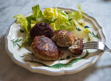 Faširane šnicle - pork burgers