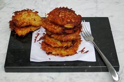 Potato Latkes (potato cakes)