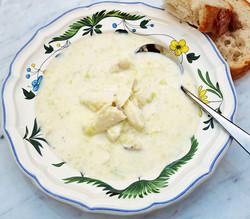 Cullen Skink (smoked haddock, potato, leek soup)