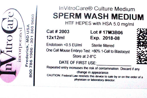 Sperm Prep Media (Box of 10)