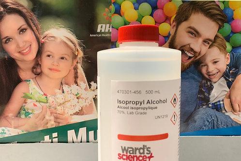 Isopropyl Alcohol 70% 500 mL Free Domestic Shipping