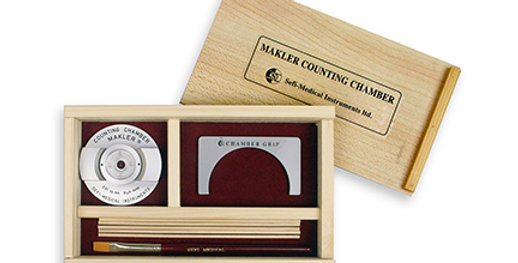 The Makler Counting Chamber (includes $20 for UPS 2day)