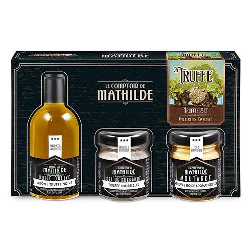 Coffret gourmet Truffe noire - Comptoir de Mathilde