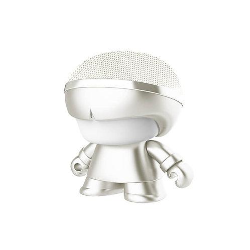 Enceinte Bluetooth Nomade - Mini Xoopar Boy Metal Blanc