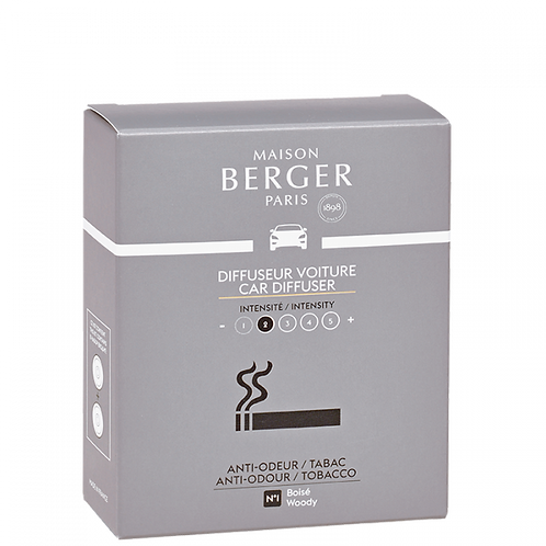 Anti-Tabac - 2 Recharges Diffuseur Voiture - Maison Berger