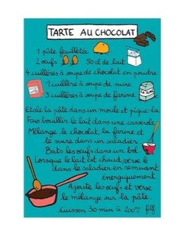 Magnet - Tarte au Chocolat