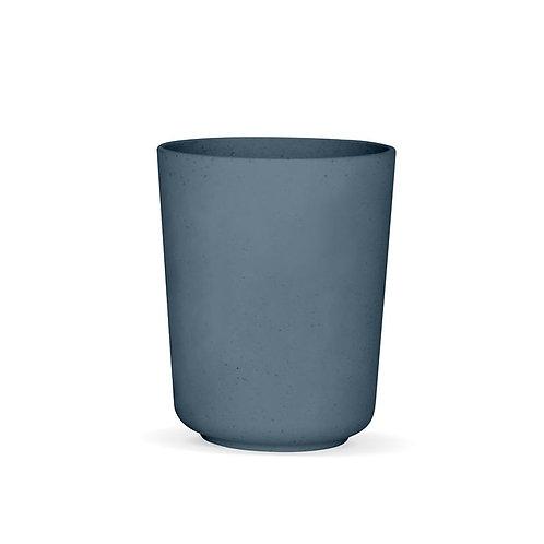 Verre Végétal - Bleu-gris / Moutarde