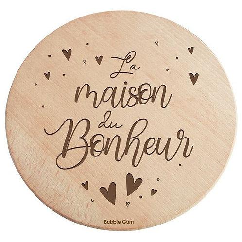 DESSOUS DE PLAT - LA MAISON DU BONHEUR
