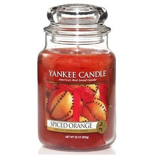 Jarre GM - Orange Epicée - Yankee Candle
