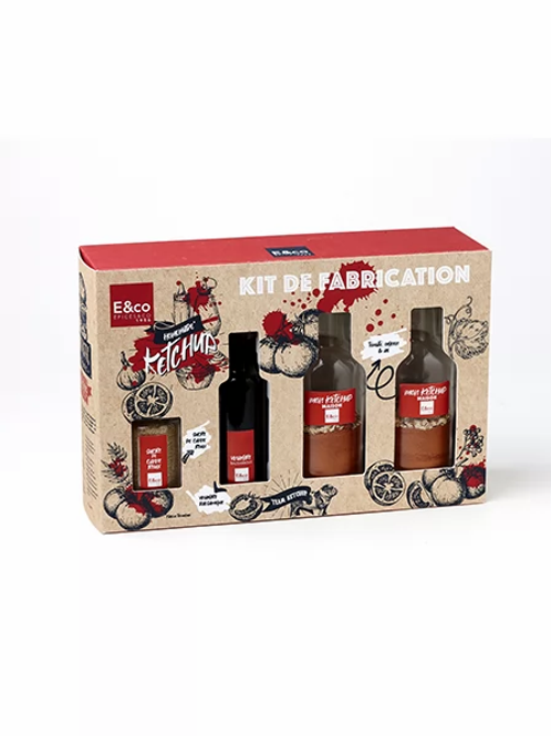 "Kit de fabrication ""Mon ketchup Maison"""