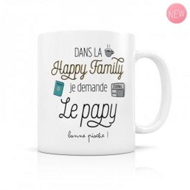 Mug Happy Family - Le Papy