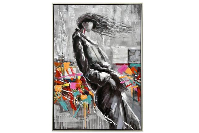 Tableau Femme Mouvement - 100 x 70 cm