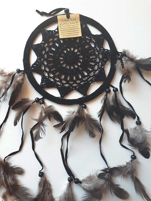 Attrape-rêves - Noir D.16,5 cm