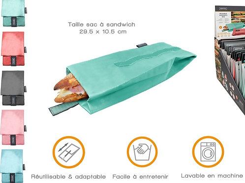 Sac à Sandwich Réutilisable