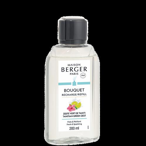 Zeste Vert de Tahiti - Recharge Bouquet Parfumée Maison Berger 200 ml