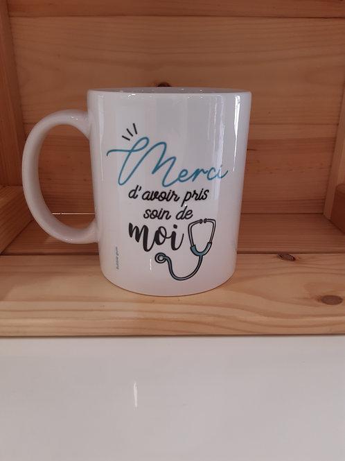 Mug - Merci d'avoir pris soin de moi