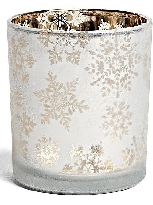 Bougeoir GM - Flocon de Neige Givré - Yankee Candle
