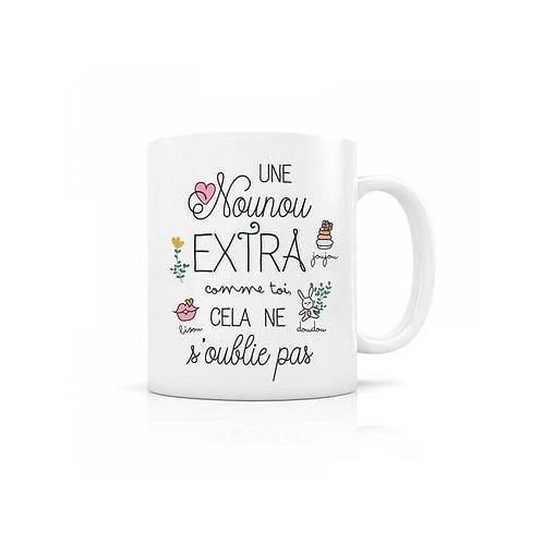 Mug - Nounou Extra  - Créa-Bisontine