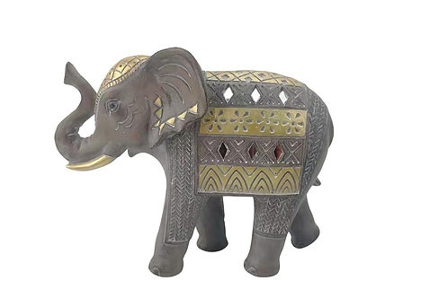 ELEPHANT GRIS/GOLD - OSIRIS